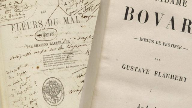 Baudelaire et Flaubert