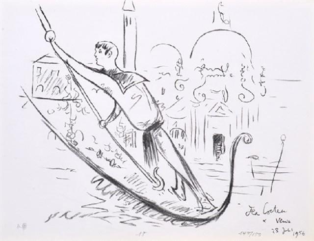 Cocteau et Venise