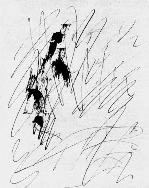 Picasso, feuillet d'album